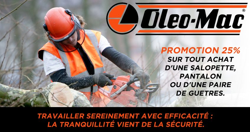 promotion vetement promotion oleo mac